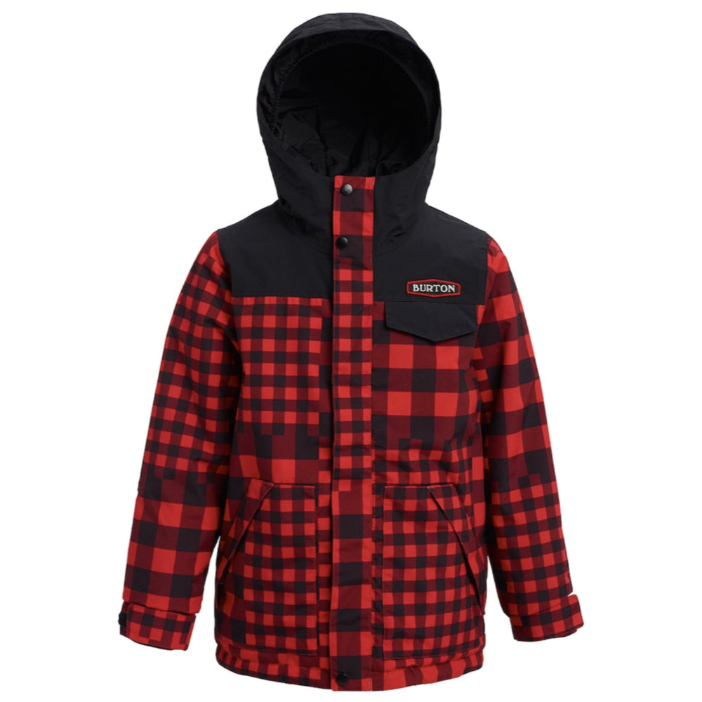 Burton Dugout Jacket Boys - Buffalo