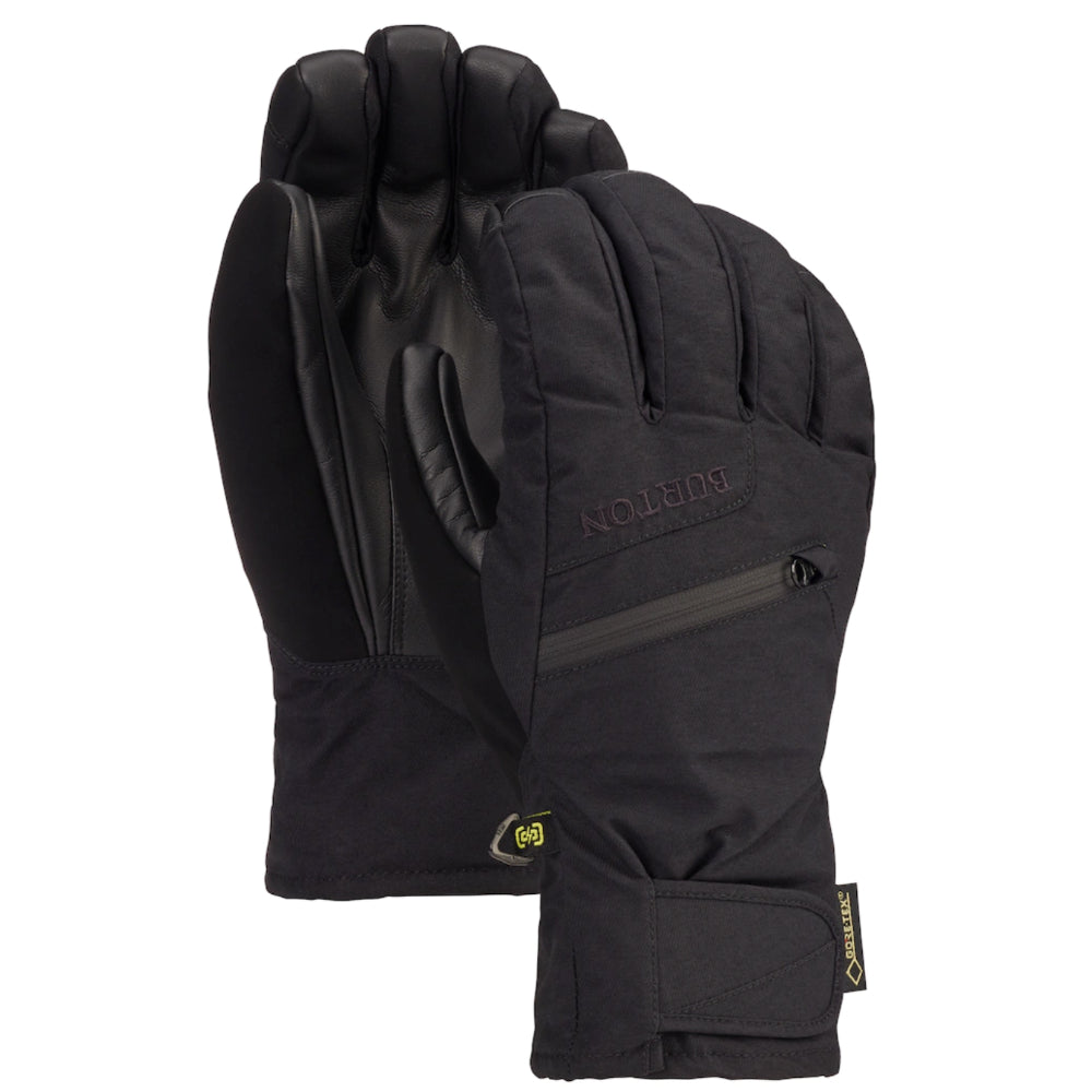 Burton Gore Under Gloves Mens - True Black