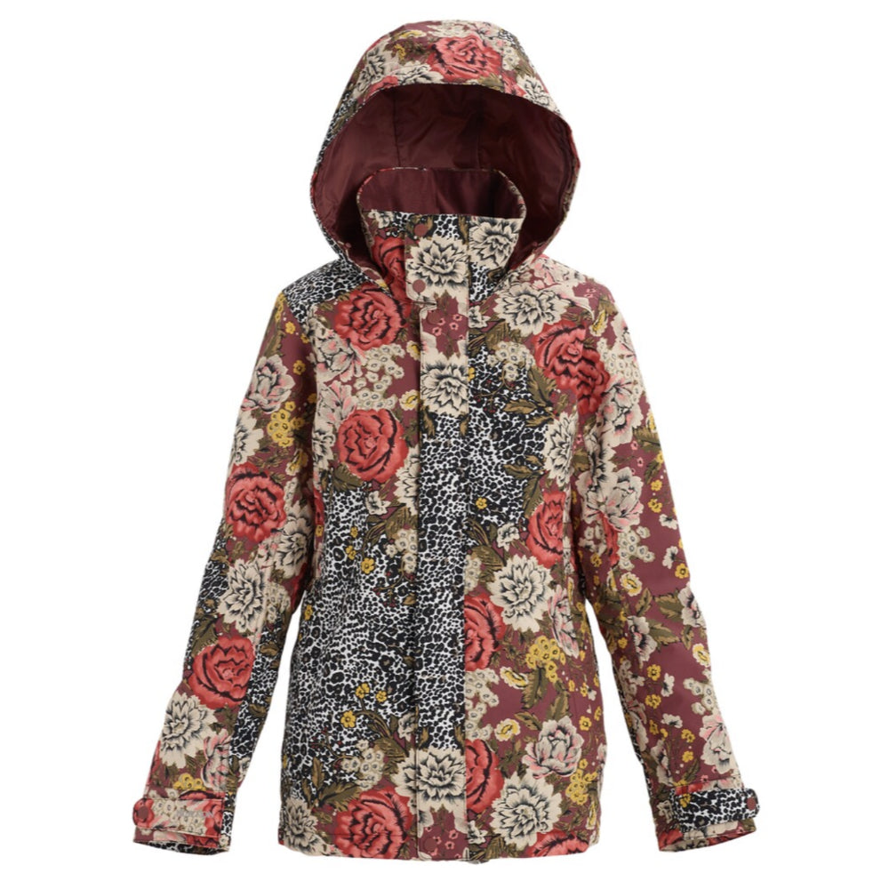 Burton Jet Set Jacket Womens - Cheetah Floral