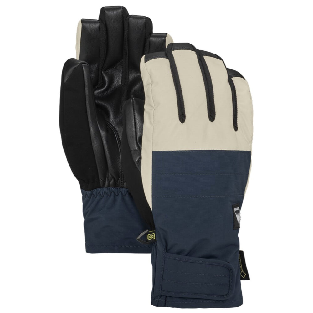Burton Reverb Gore Gloves Mens - Dress Blue Almond Milk
