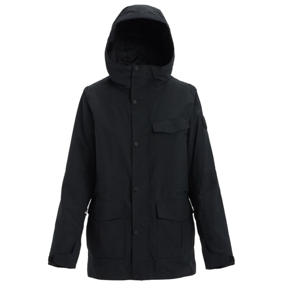 Burton Runestone Jacket Womens - True Black