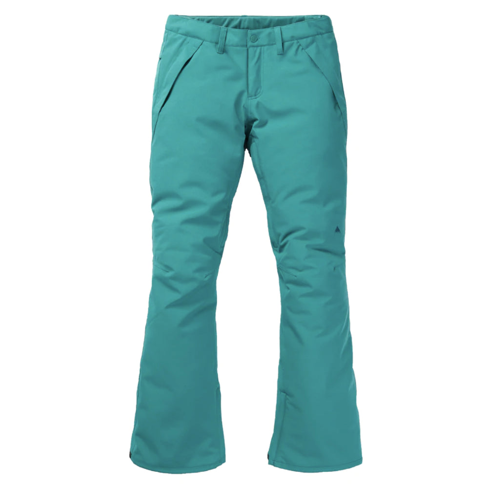 Burton Society Pants Womens - Green Blue Slate