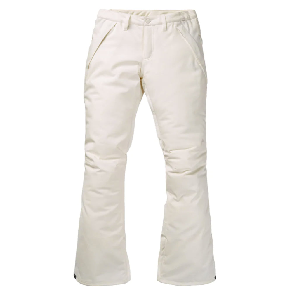 Burton Society Pants Womens - Stout White
