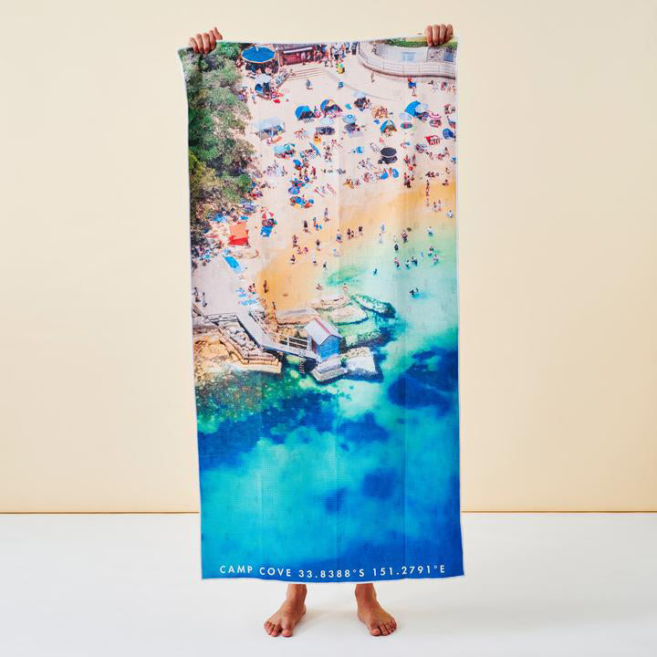 Destination Towels - Camp Cove Corner