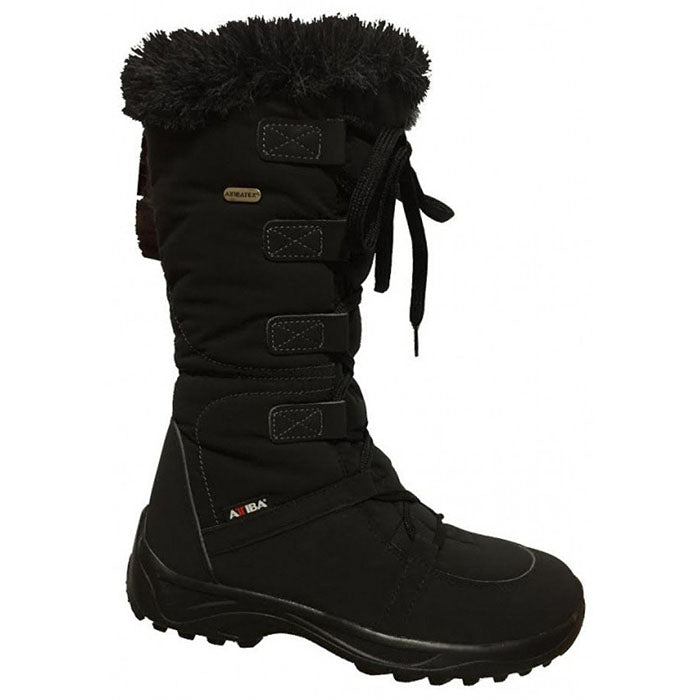 Attiba Venice Side Zip Apres Boots Womens - Black