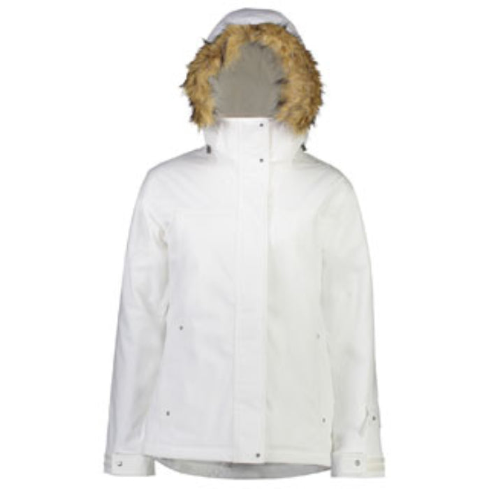 Cartel Brooklyn Jacket - Womens - White