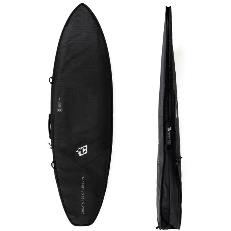Creatures 6ft Shortboard Day Use DT2.0 - Black Silver