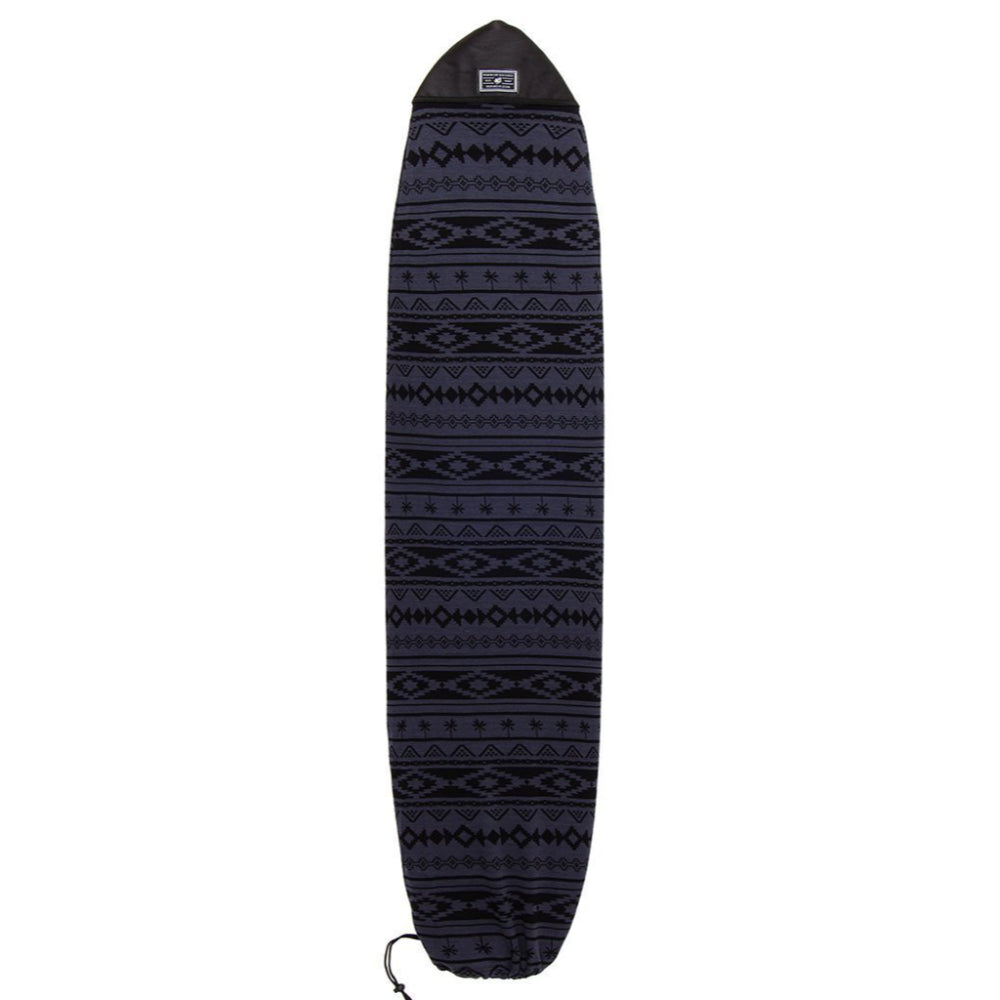 Creatures 8ft 6 Longboard Navajo Sox - Charcoal/Black