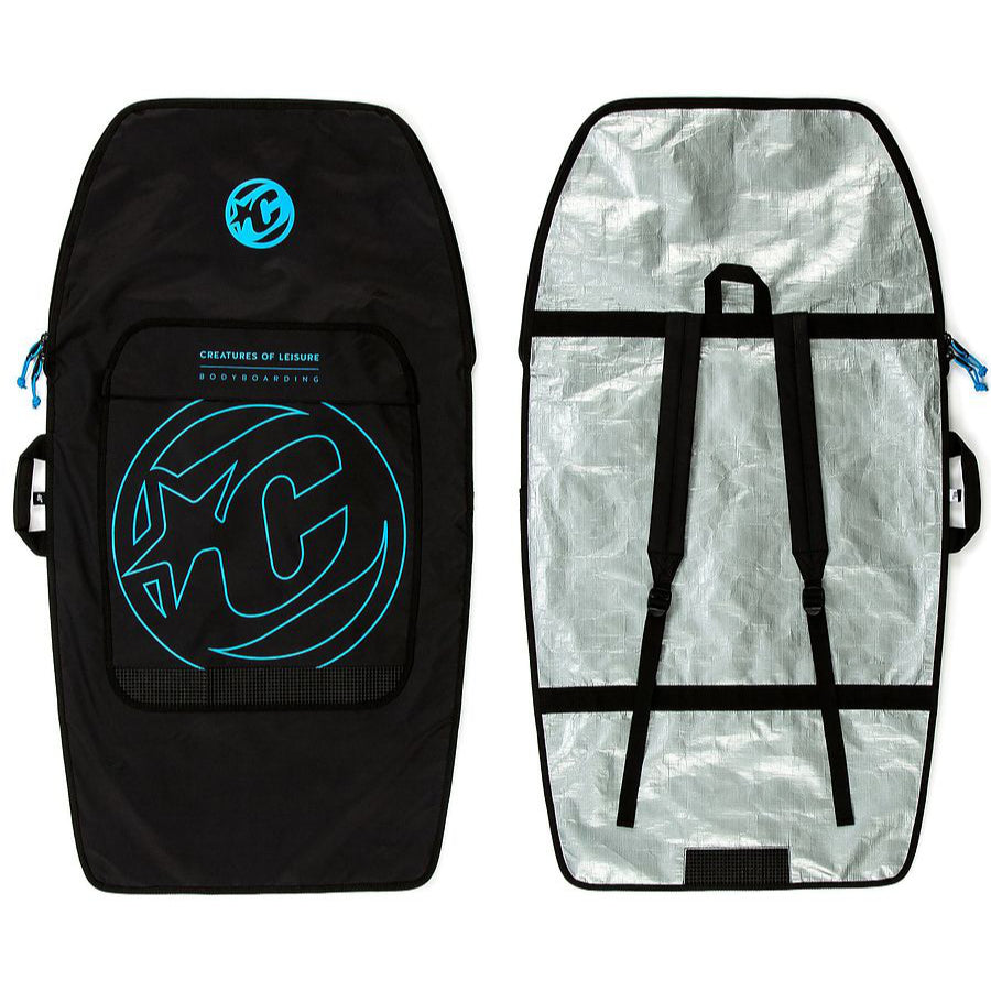 Creatures Bodyboard Day Use (1 Board) - Black/Cyan
