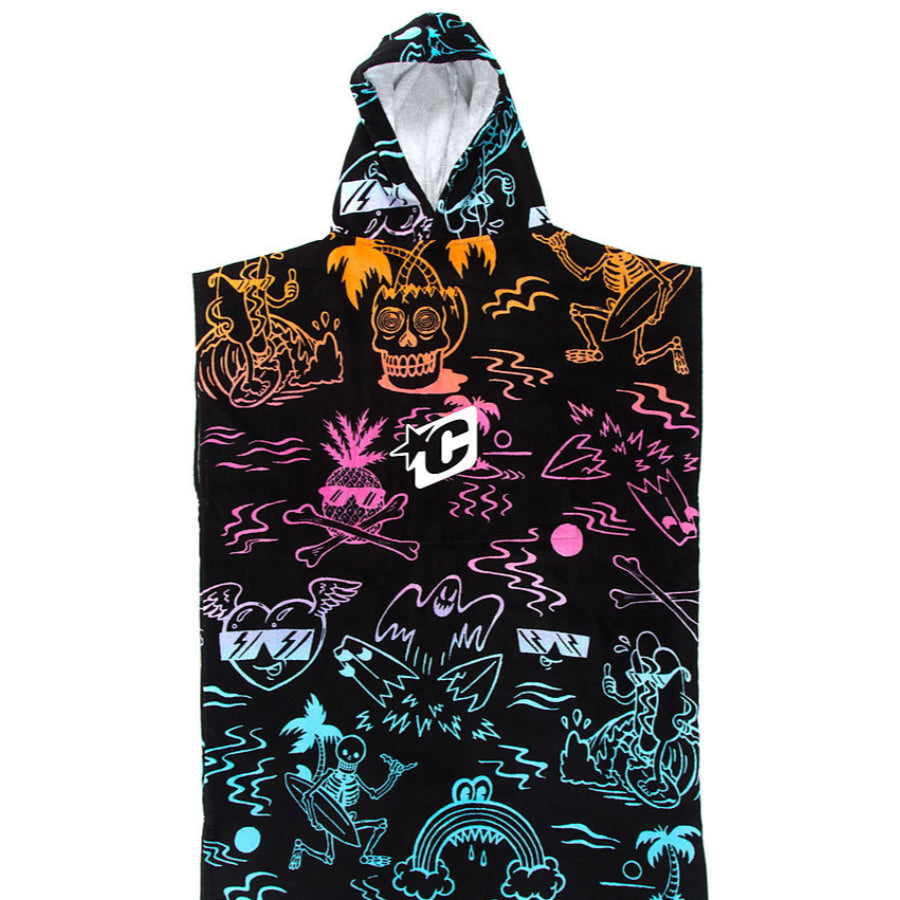 Creatures Grom Poncho Towel - Multi