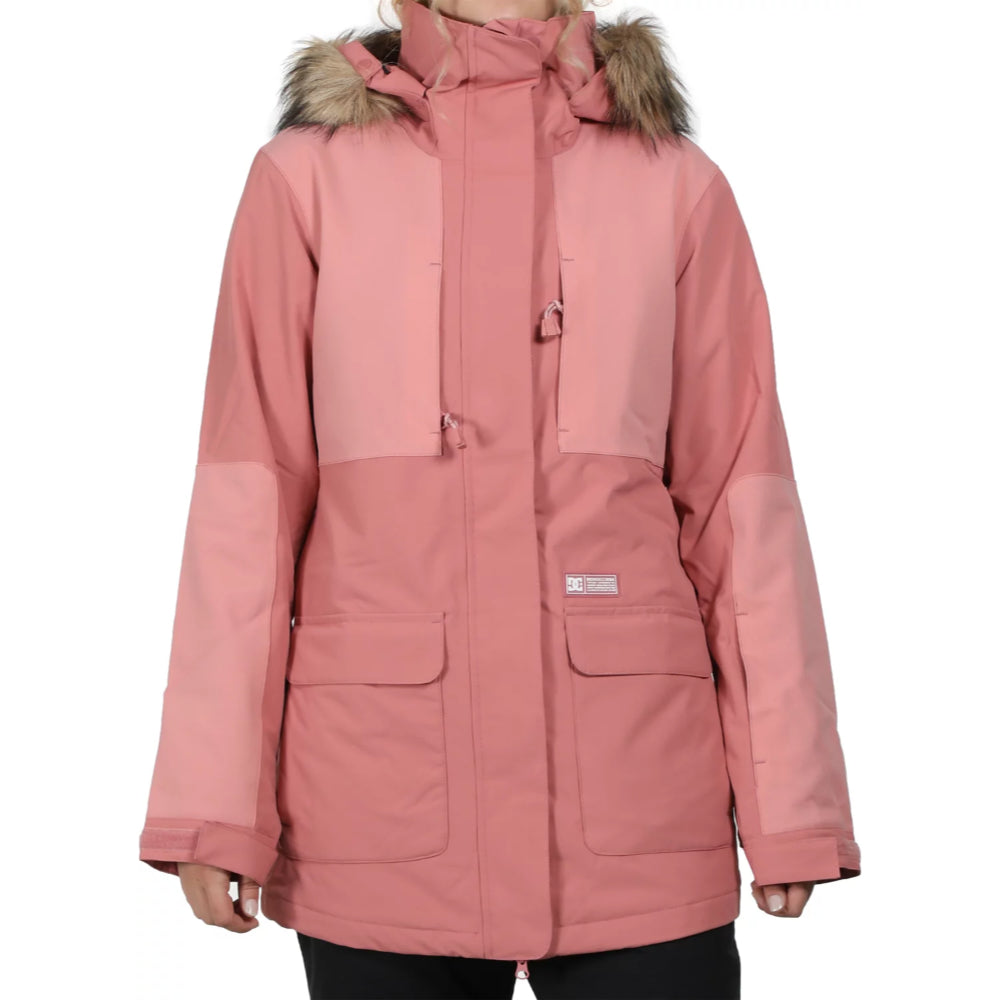 DC Panoramic Snow Jacket Ladies - Dusty Rose