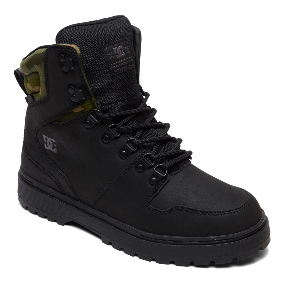 DC Peary Shoe - Mens - Black Camo