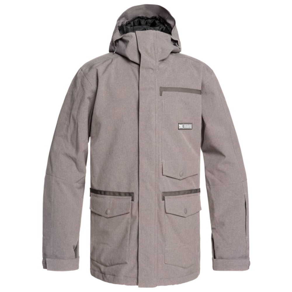 DC Servo Jacket Mens - Dark Gull Gray