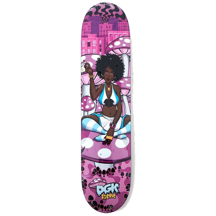 DGK Ghettoland Williams Deck - 7.9