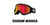 Dragon DXS Goggle - Black/LL Red Ionised