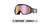 Dragon DX2 Goggle - Whiteout/LL Pink Ionised/LL Dark Smoke