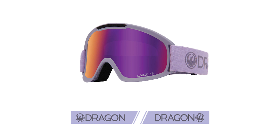 Dragon DX2 Goggle - Ultraviolet/LL Purple Ion and LL Amber