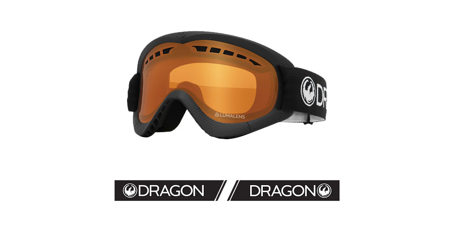 Dragon DXS Goggle - Black/LL Amber