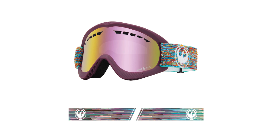 Dragon DXS Goggle - Shred Together/LL Pink Ionised