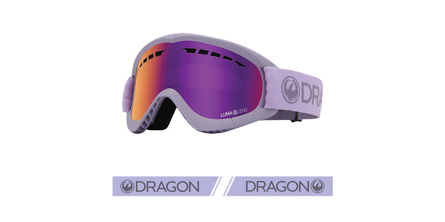 Dragon DXS Goggle - Ultraviolet/LL Purple Ion