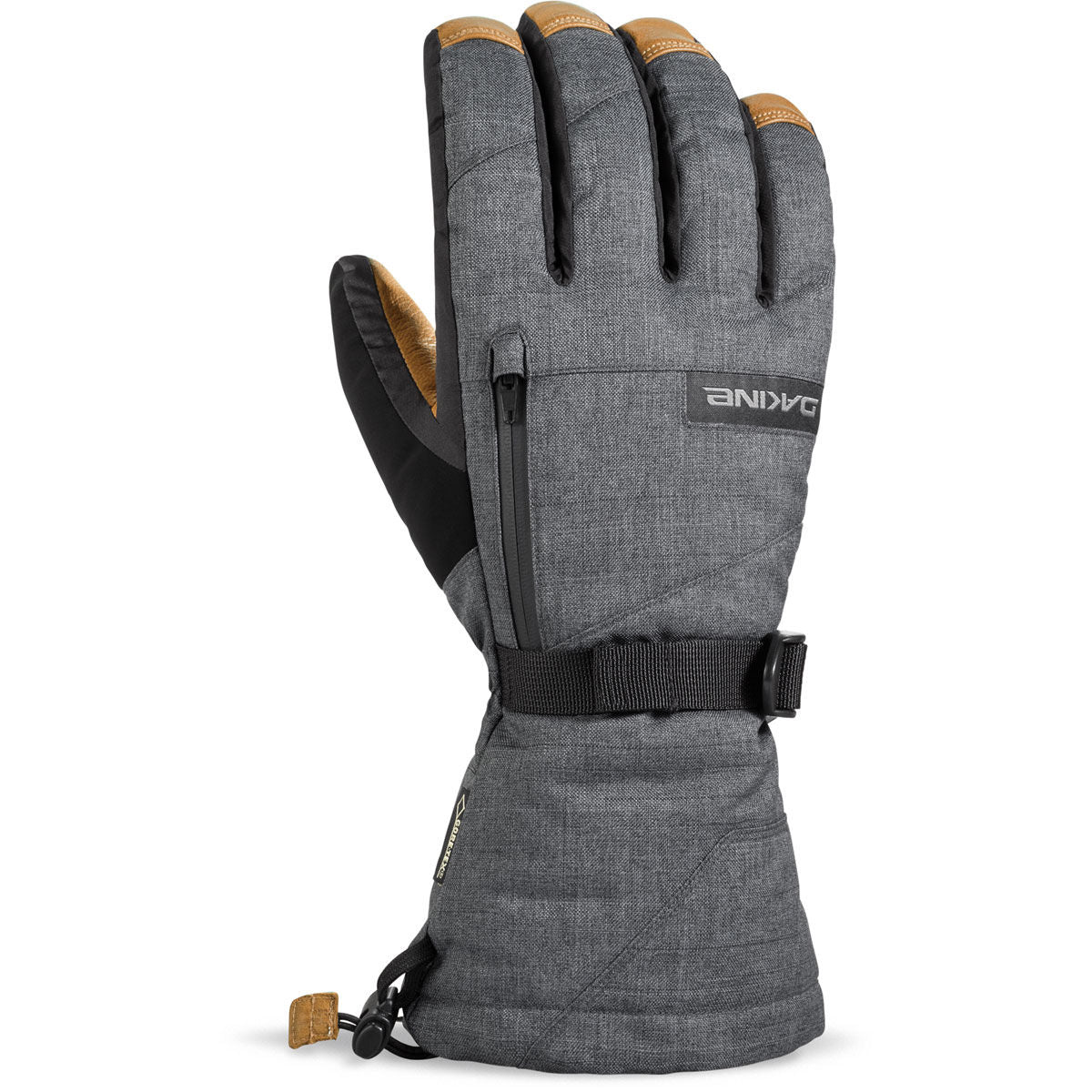 Dakine Leather Titan Gloves Mens - Carbon DK
