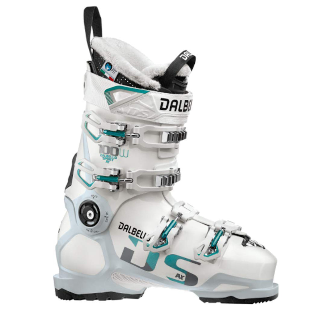 Dalbello DS AX 100 Ski Boots Womens - White/Polar White