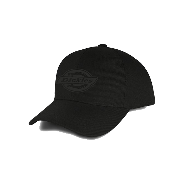 Dickies Milwaukee Curved Peak Snap Back Cap - Black
