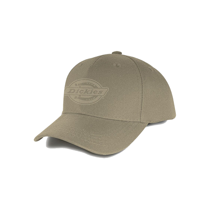 Dickies Milwaukee Curved Peak Snap Back Cap - Khaki