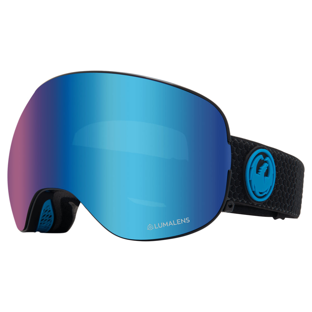 Dragon X2 Goggle - Split/LL Blue Ionised/LL Amber