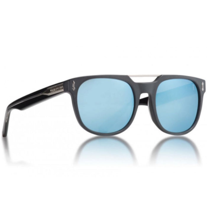 Dragon Mix Sunglasses - Matte Black/Blue
