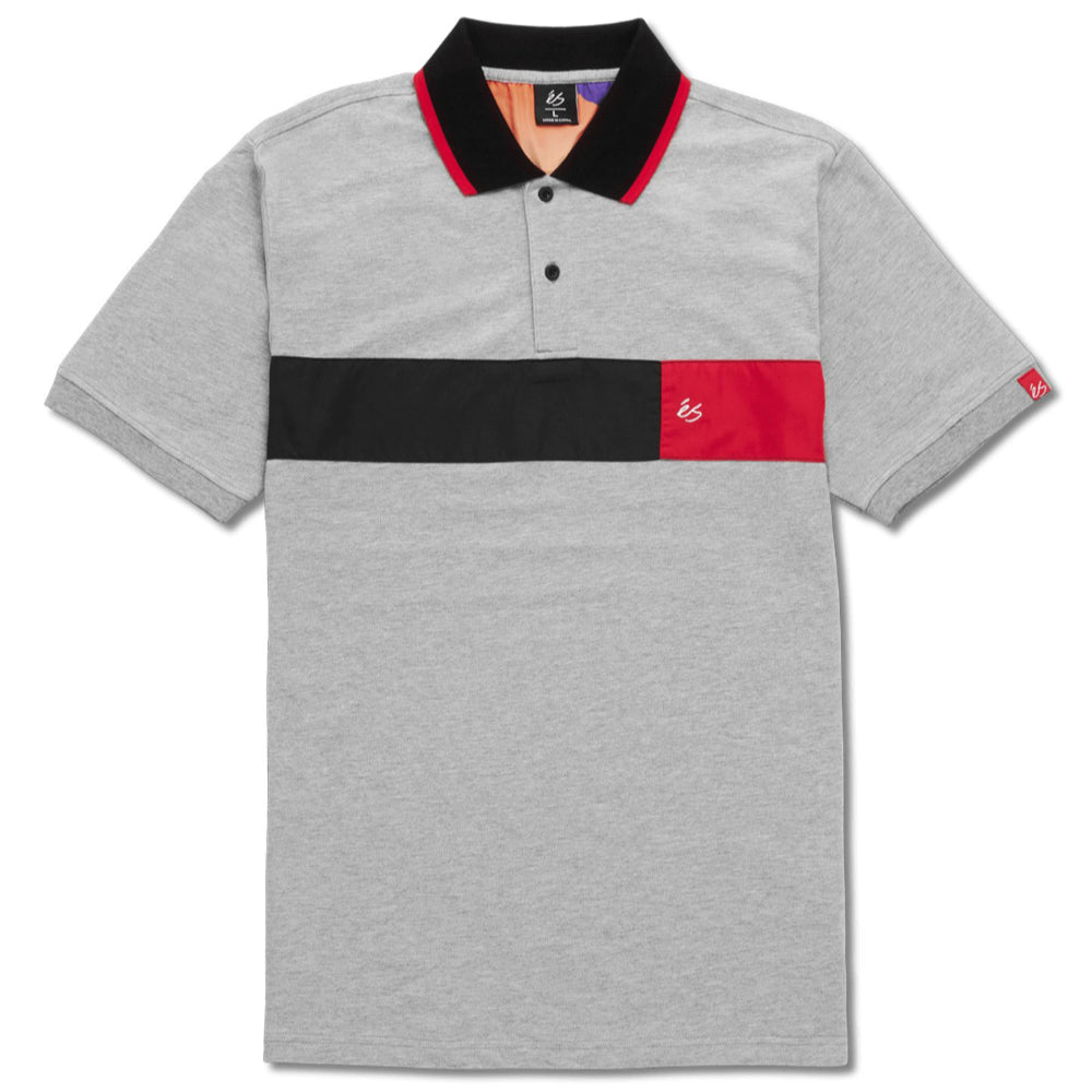 ES Mitga Polo Shirt - Mens - Grey/Heather