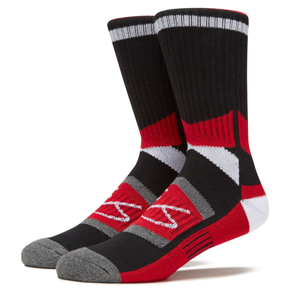 ES Tech Sock - Black/Red