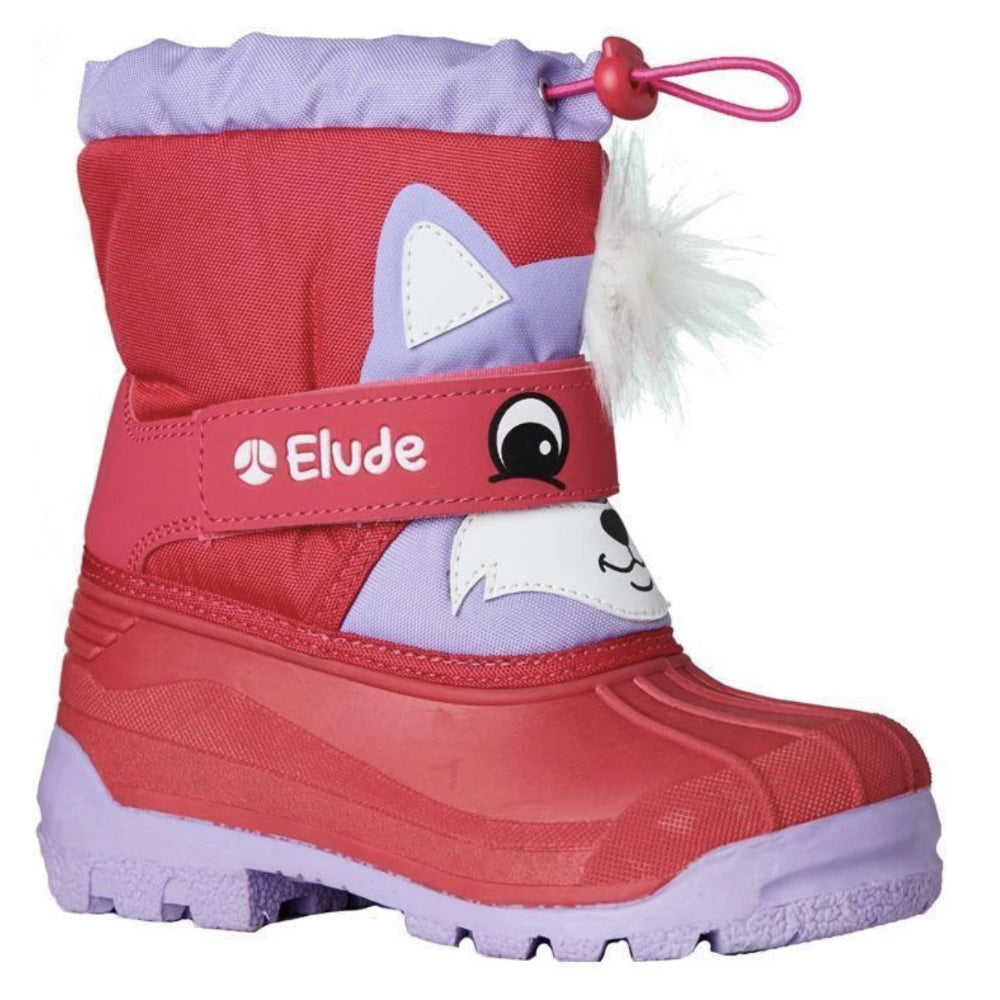 Elude Snow Play Woodlands Boot Kids - Rach Raccoon