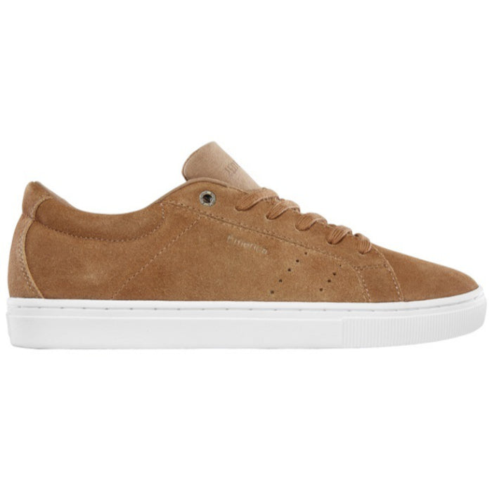 Emerica Americana Shoes Mens - Tan/White