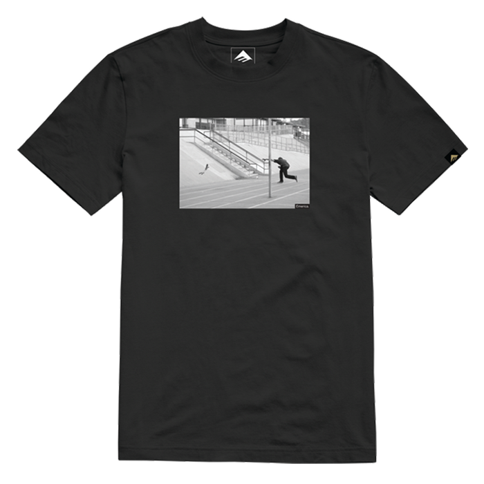Emerica Focused Photo Tee - Mens - Black