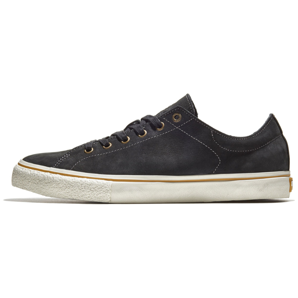 Emerica Omen Lo SB Reserve Shoes Mens - Black Raw