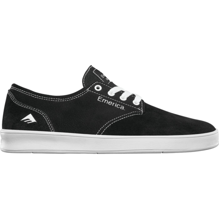 Emerica The Romero Laced Shoes Mens - Black/White/Black