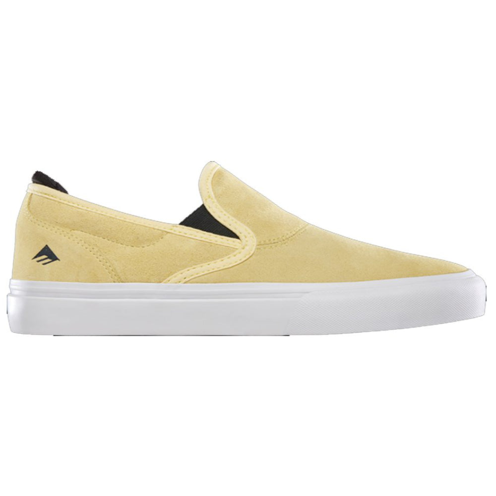 Emerica Wino G6 Slip On Shoes Mens - Yellow/White
