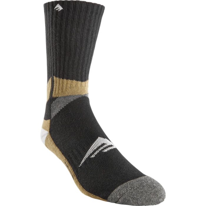 Emericana ASI Tech Sock - Black