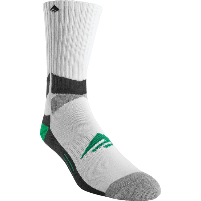 Emericana ASI Tech Sock - White