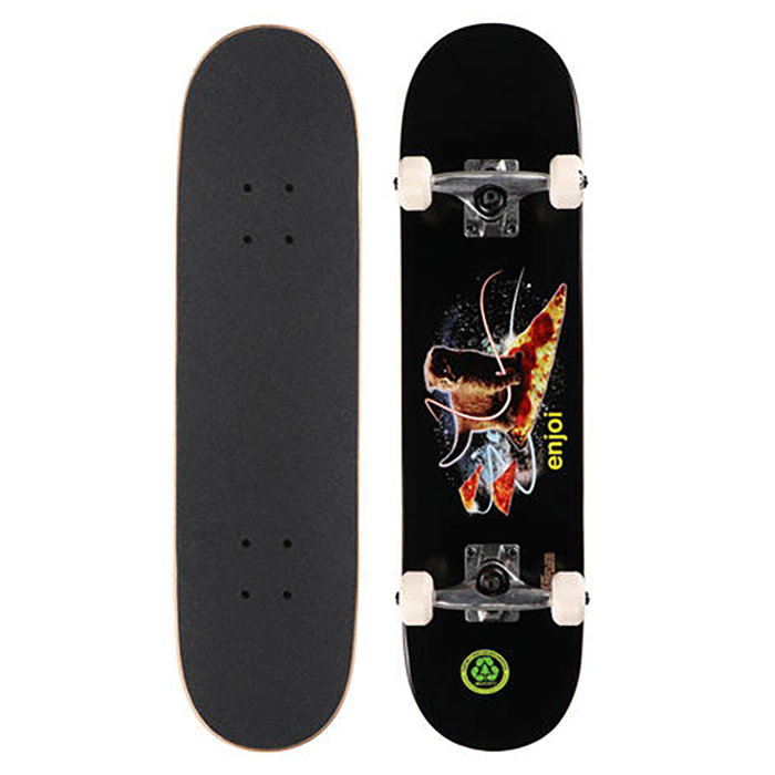 Enjoi Pizza Kitten Youth FP Complete - Black - 7.25