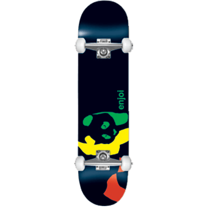 Enjoi Rasta Panda Youth FP Complete Skateboard - 7.0
