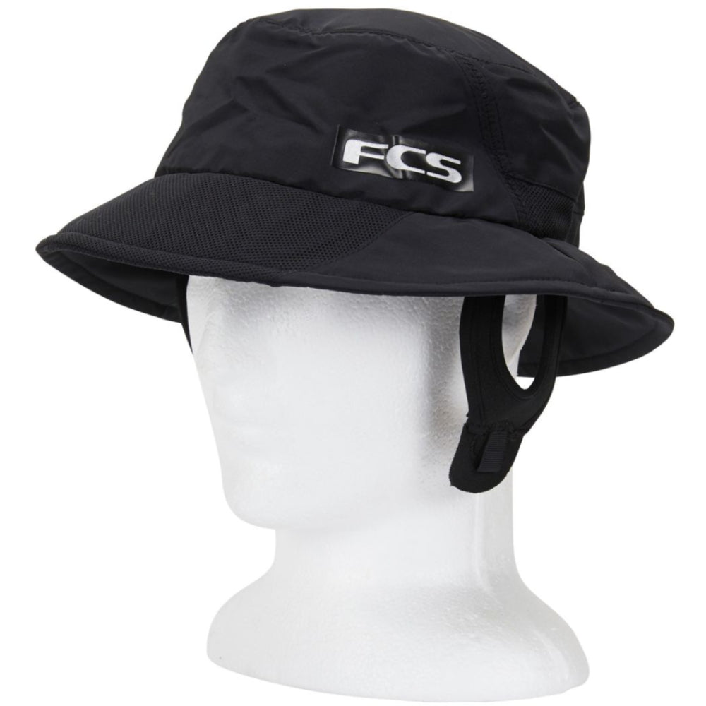 FCS Essential Surf Bucket Hat - Black - STOCK INSTORE ONLY - CALL OR EMAIL