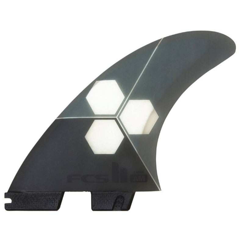 FCS II AM PC Grey Tri-Fins - Large