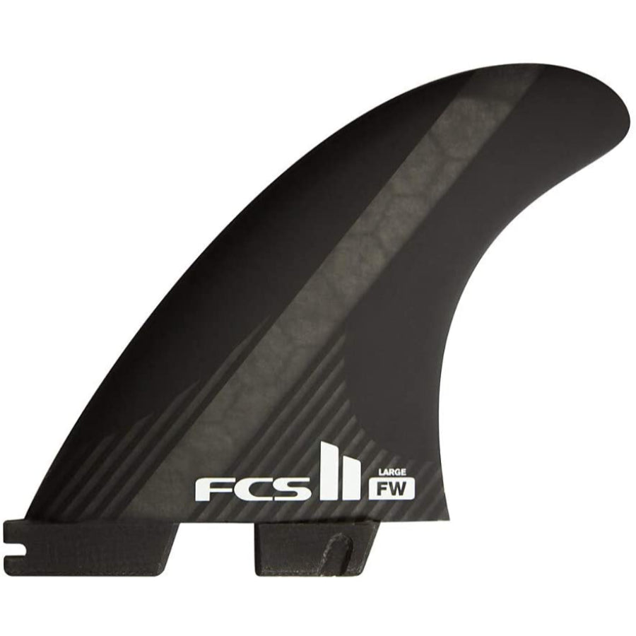 FCS II FW PC Black Tri-Fins - Medium