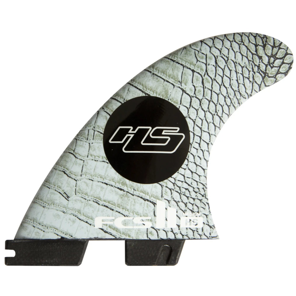 FCS II HS PC Carbon Medium Tri Retail Fins - STOCK INSTORE ONLY - CALL OR EMAIL