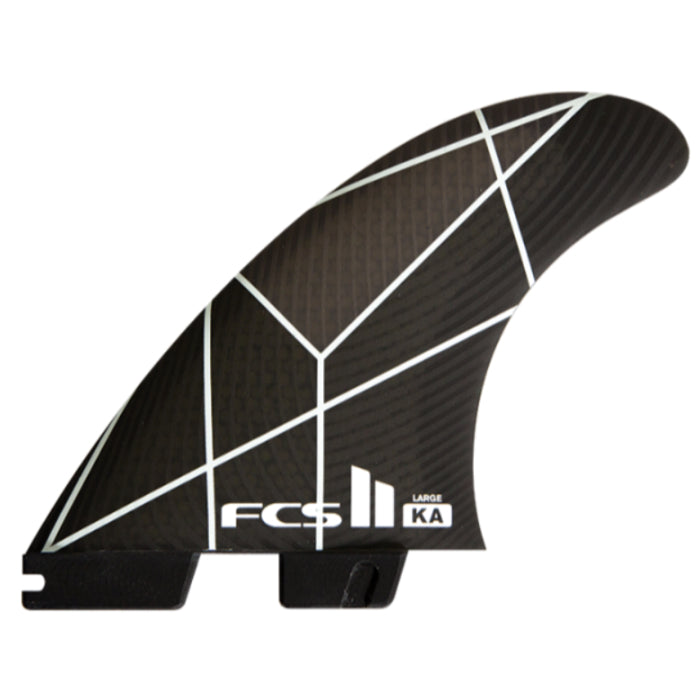 FCS II KA PC Large Fins - White/Grey - STOCK INSTORE ONLY - CALL OR EMAIL