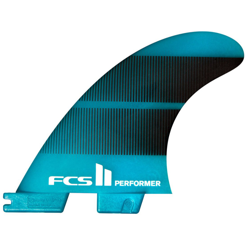 FCS II Performer Neo Glass Teal Gradiant Fins - Large - STOCK INSTORE ONLY - CALL OR EMAIL