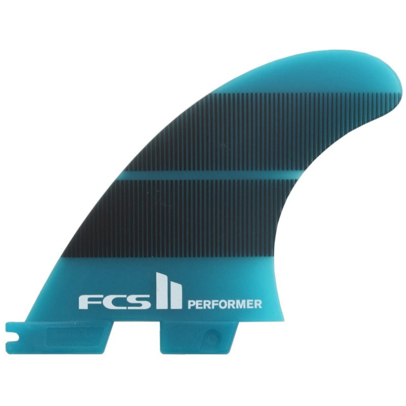 FCS II Performer Neo Glass Teal Gradiant Fins - Medium - STOCK INSTORE ONLY - CALL OR EMAIL