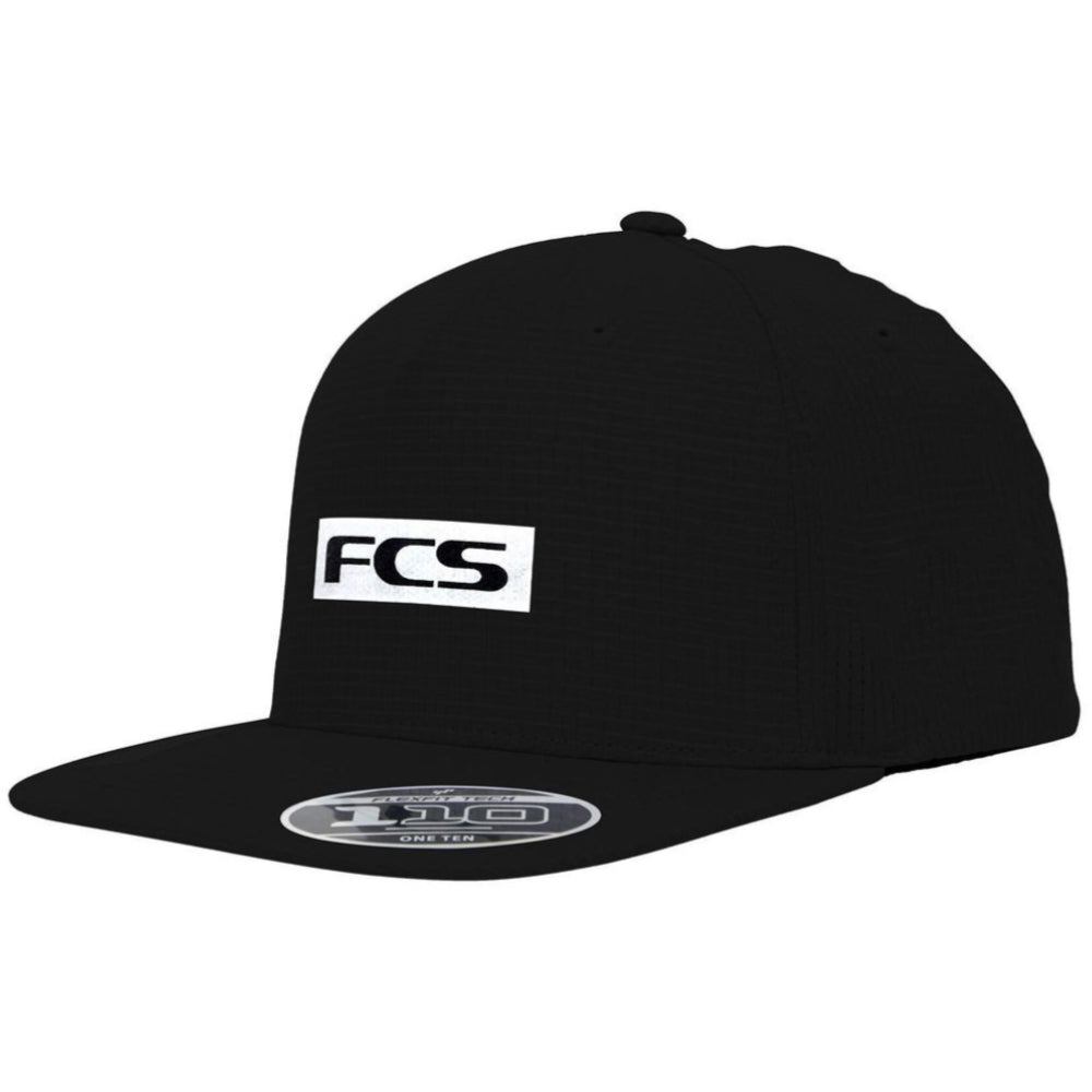 FCS Repel Snapback Cap Black